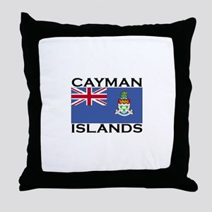 Cayman Islands Flag Throw Pillow